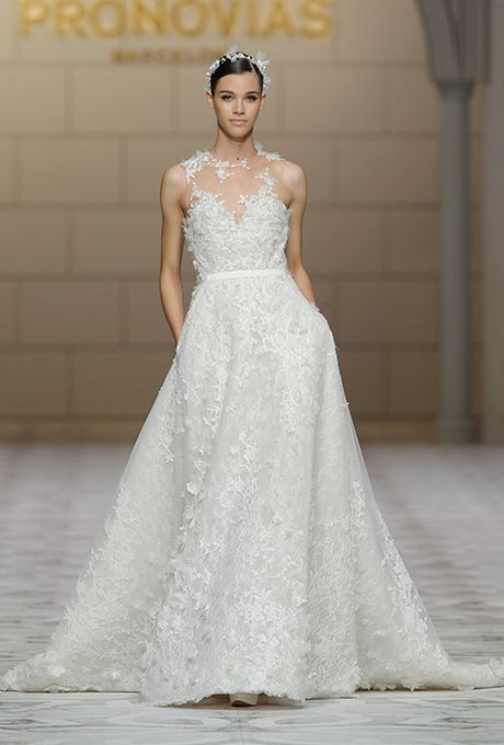 Pronovias Wedding Dresses Fall 2015 Bridal Runway Shows Brides.com ...