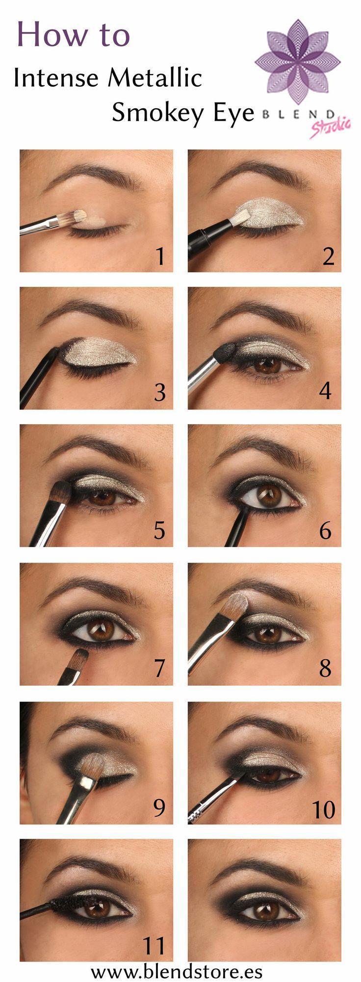 Свадьба - 15 Wonderful Party Eye Makeup Ideas For 2014