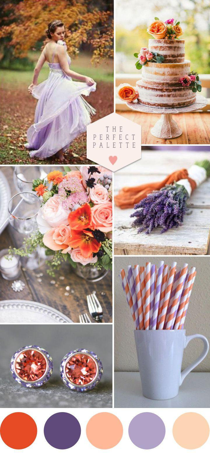 Boda - Autumn Sunlight: Peach And Lavender