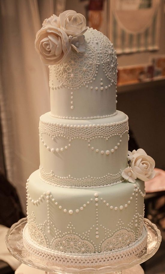 wedding Vintage cake lace