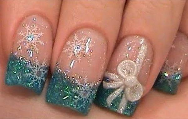 Winter Wedding Winter Nail Designs 2181142 Weddbook