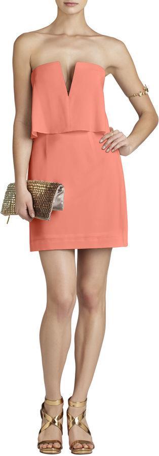 زفاف - Kate Strapless Ruched-Skirt Dress