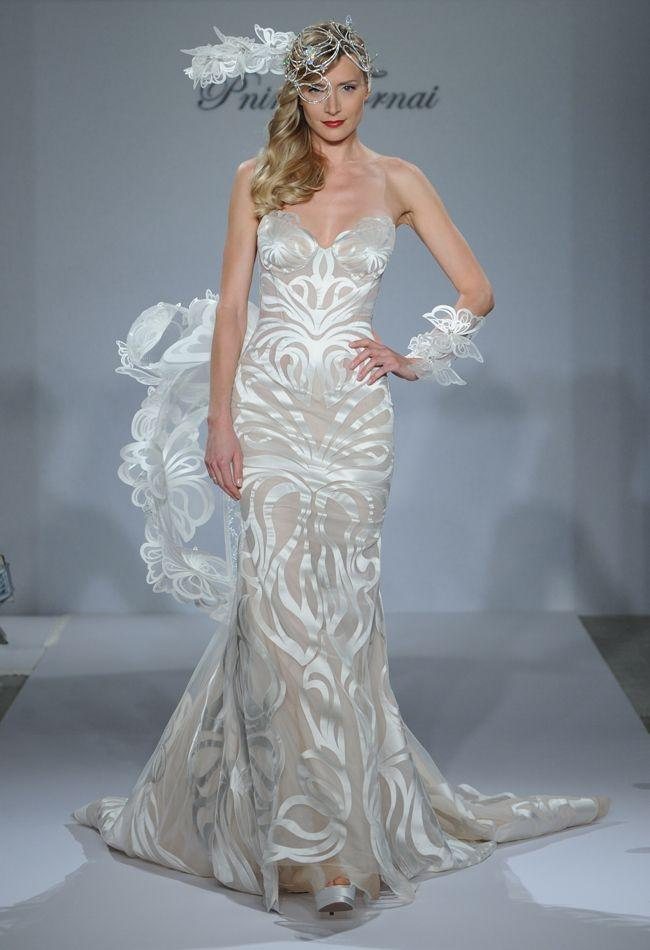 Pnina tornai fall 2015 wedding dresses are sultry and bold for Pnina tornai wedding dresses