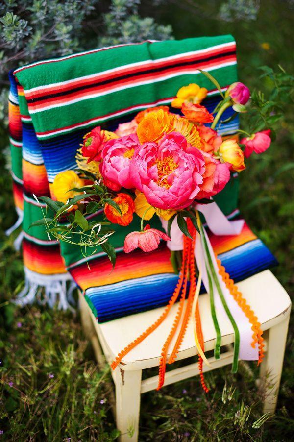 Bohemian Wedding - Technicolor Cinco De Mayo Wedding #2181457 - Weddbook
