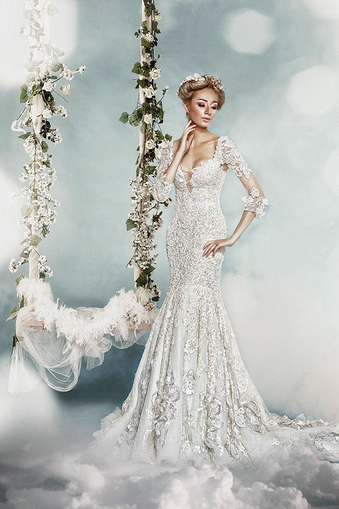 Nozze - Long Sleeved & 3/4 Length Sleeve Wedding Gown Inspiration