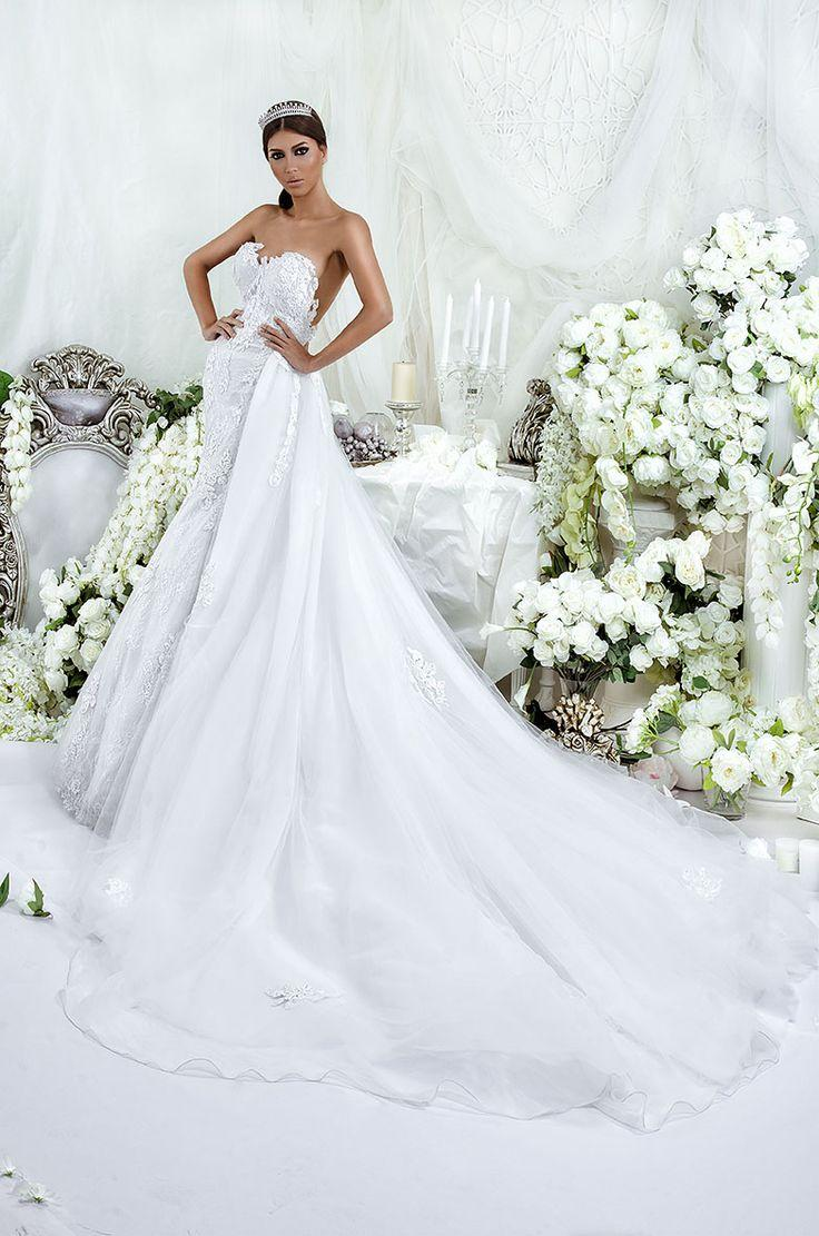 زفاف - Strapless Wedding Dress Inspiration