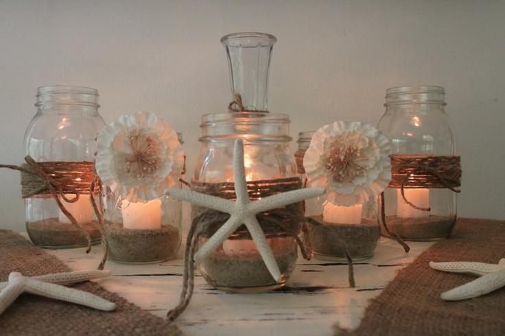 Rustic Beach Wedding Decor