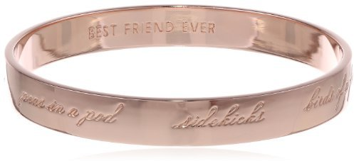 Kate Spade New York Idiom Bridesmaid Engraved Bangle Bracelet