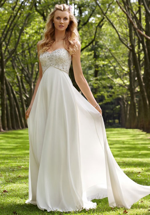 Wedding - Chiffon Wedding Dress