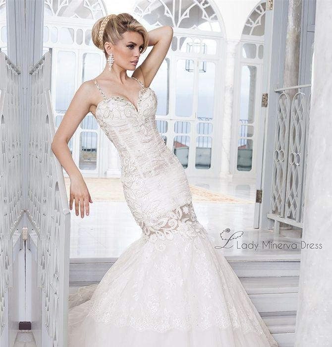 Свадьба - Sleeveless Wedding Gown Inspiration