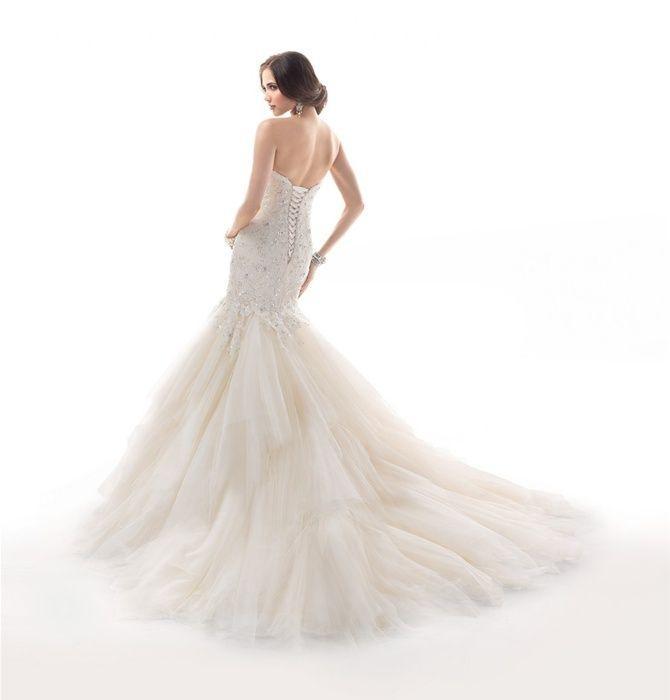 Boda - Strapless Wedding Dress Inspiration