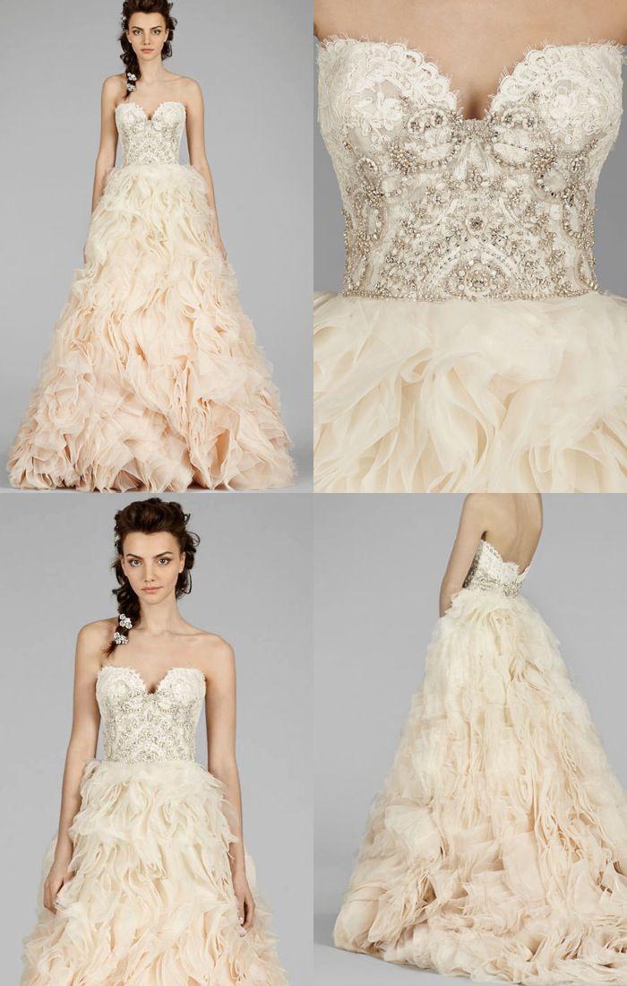 Wedding - Lazaro Wedding Dresses 2014 Fall Collection