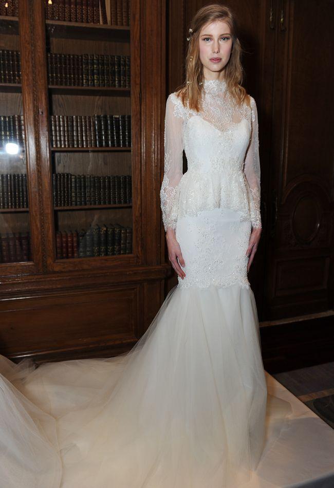 Wedding - Marchesa Fall 2015 Wedding Dresses Featured Lots Of Feminine, Textured Details