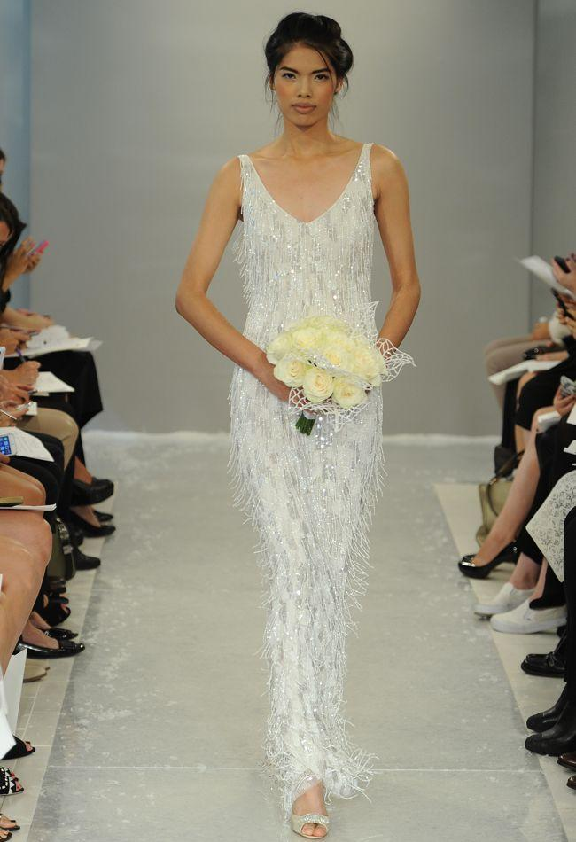 Mariage - Theia Fall 2015 Wedding Dress Collection Includes Knit Turtleneck Dress