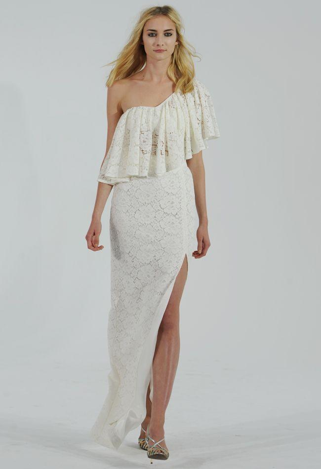 Hochzeit - Houghton 2015 Wedding Dresses Channel Carrie Bradshaw For Fall
