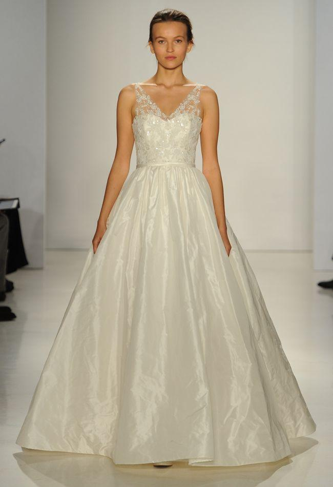 Amsale Wedding Dresses Are Big On Texture For Fall 2015 #2183442 ...