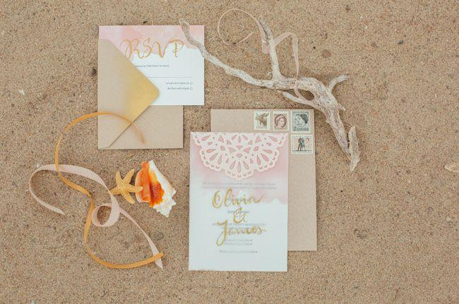 Wedding - Beachy Bohemian Wedding Inspiration