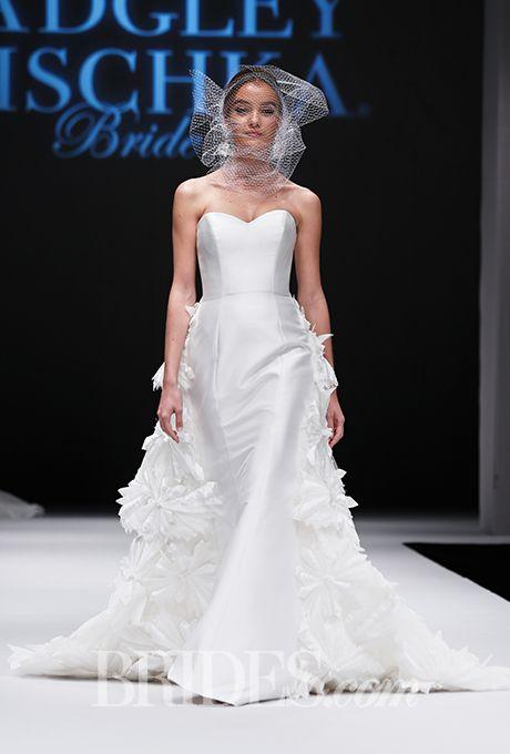 Wedding - Badgley Mischka Wedding Dresses Fall 2015 Bridal Runway Shows Brides.com