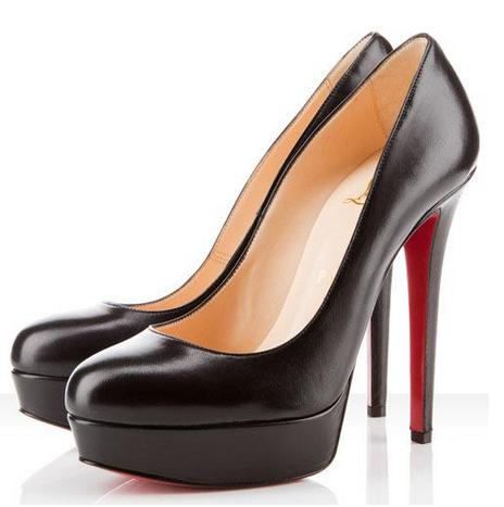 Wedding - Christian Louboutin Bianca 140mm Platforms Black