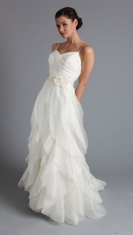 Sleeveless Wedding Gown Inspiration