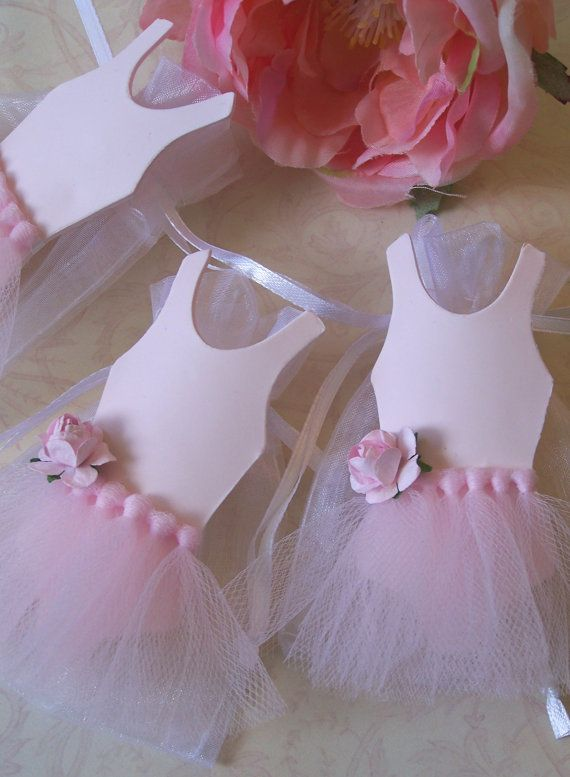 Ballerina Birthday Theme Party Favor Bags 10 Pieces
