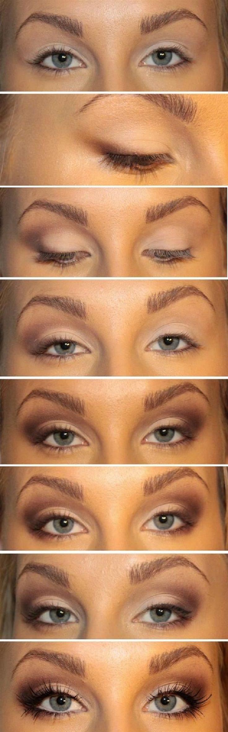Свадьба - Top 10 Fall Brown Smoky Eye Tutorials