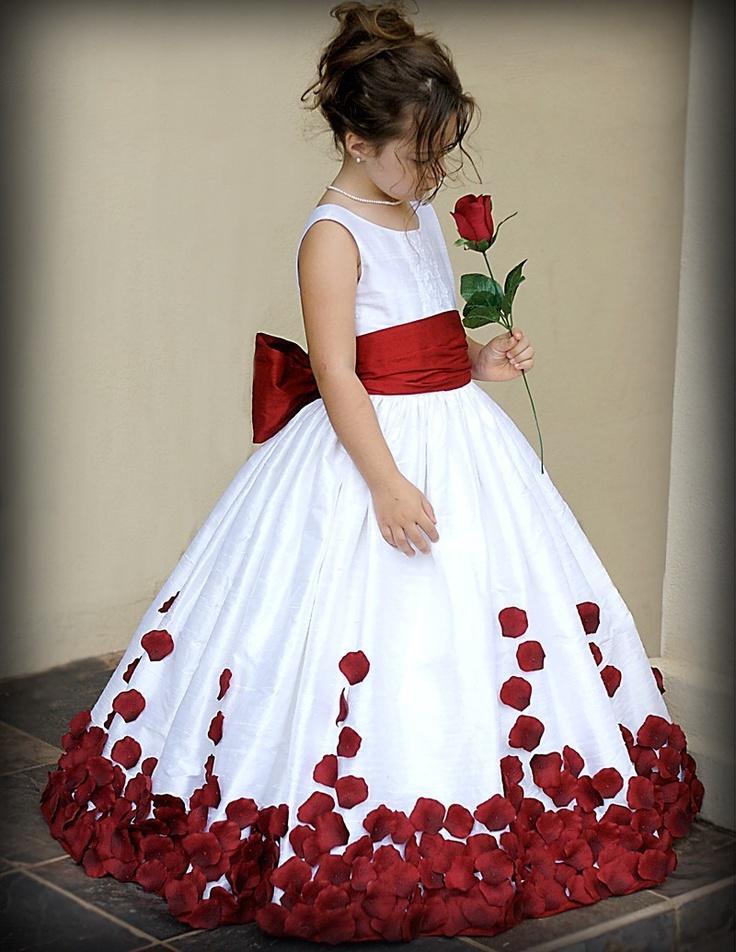 Wedding - Silk Dupioni Rose Petal Gown Custom Size/Colors
