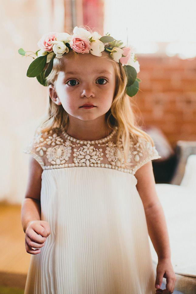 Свадьба - 20 Fashion-Forward Flower Girl Dresses