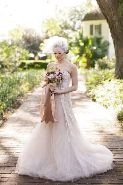 Mariage - Romantic Watercolor Wedding Inspiration Shoot