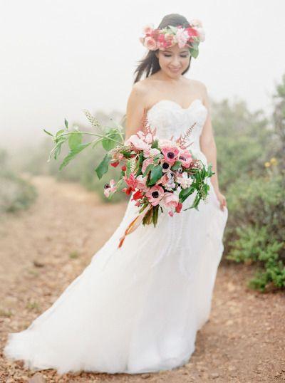 Mariage - Romantic Foggy After Wedding Portraits