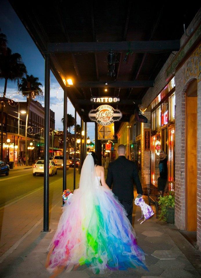 Rainbow Wedding Rainbow Themed Wedding Inspiration 2186179 Weddbook