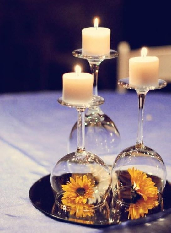 12 Wedding Centerpiece Ideas From Pinterest 2186258 Weddbook