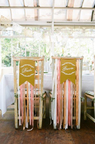 Mariage - Pink And Gold Summer Greenhouse Wedding