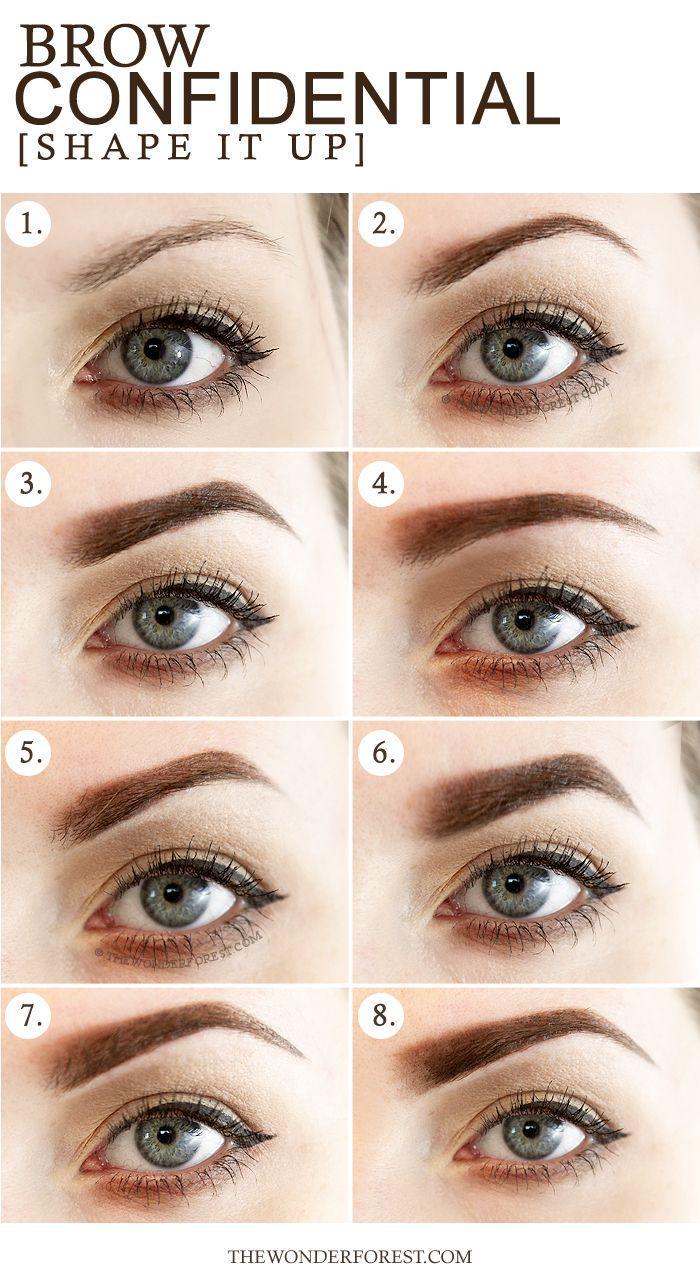 Свадьба - Brow Confidential: 8 Different Eyebrow Shapes