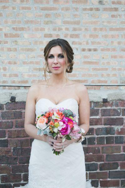Свадьба - Modern Chicago Loft Wedding