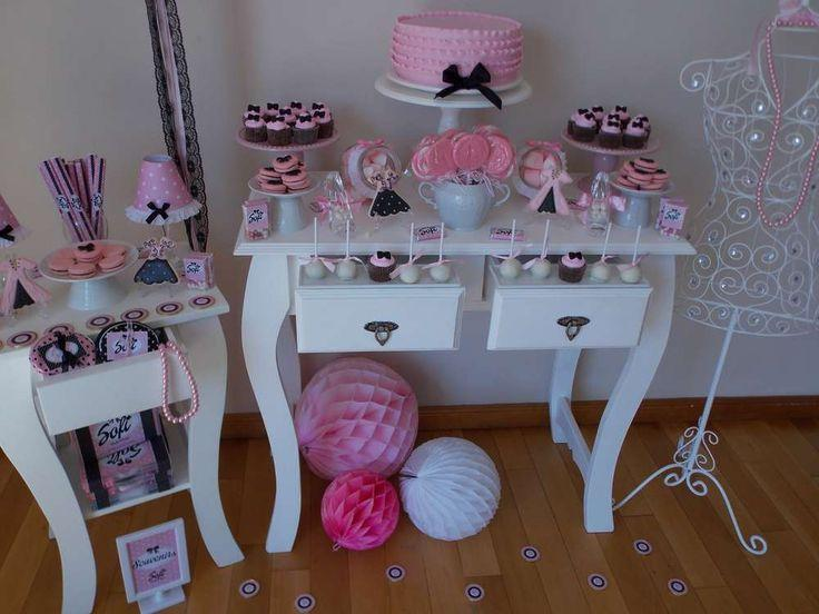 spa tea party party ideas