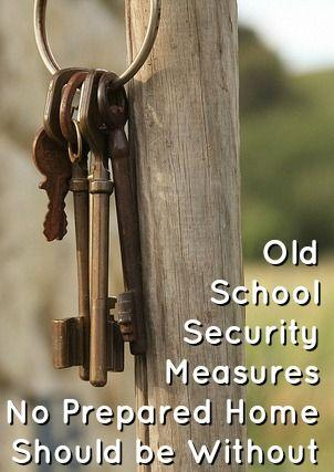 Mariage - Old School Security Measures No Prepared Home Should Be Without