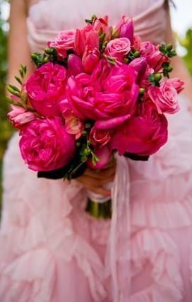 Свадьба - Hot Pink/Fuscia Wedding Palette