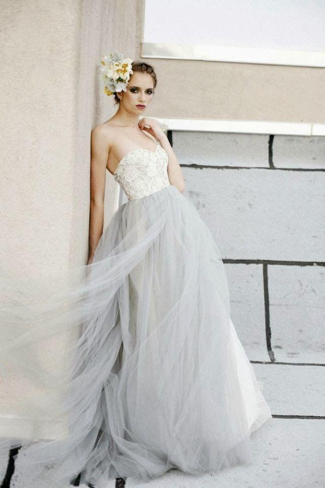 Nozze - Grey Wedding Color Inspiration