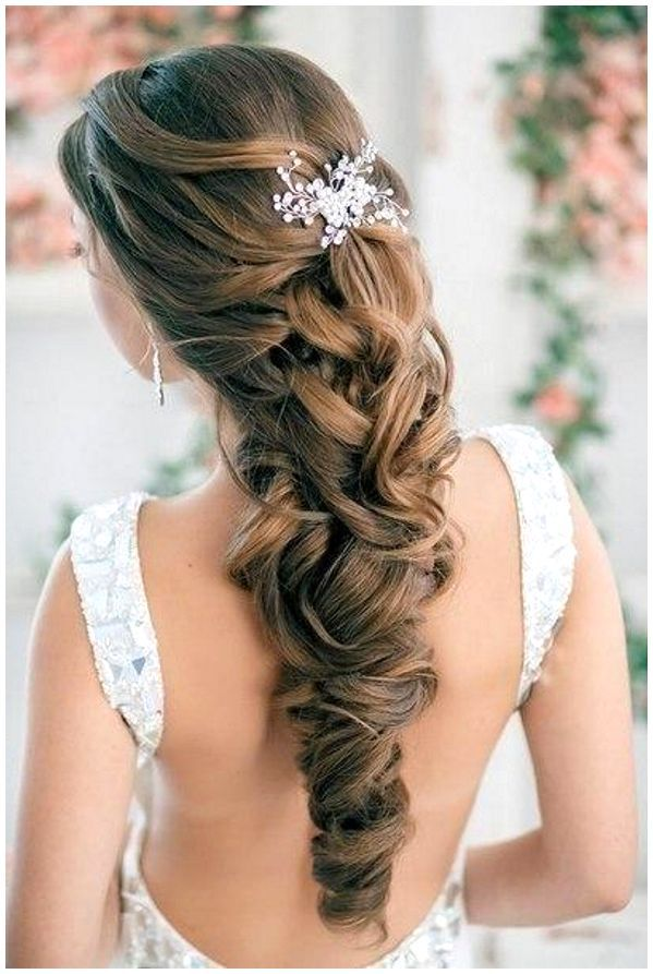 15 Beautiful Wedding Hairstyles For Long Hair
