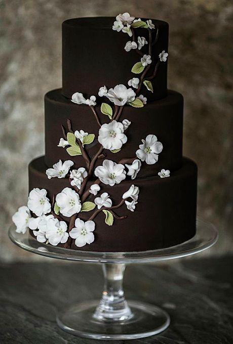 Свадьба - Wedding Cakes For Winter Weddings Winter Wedding Cakes