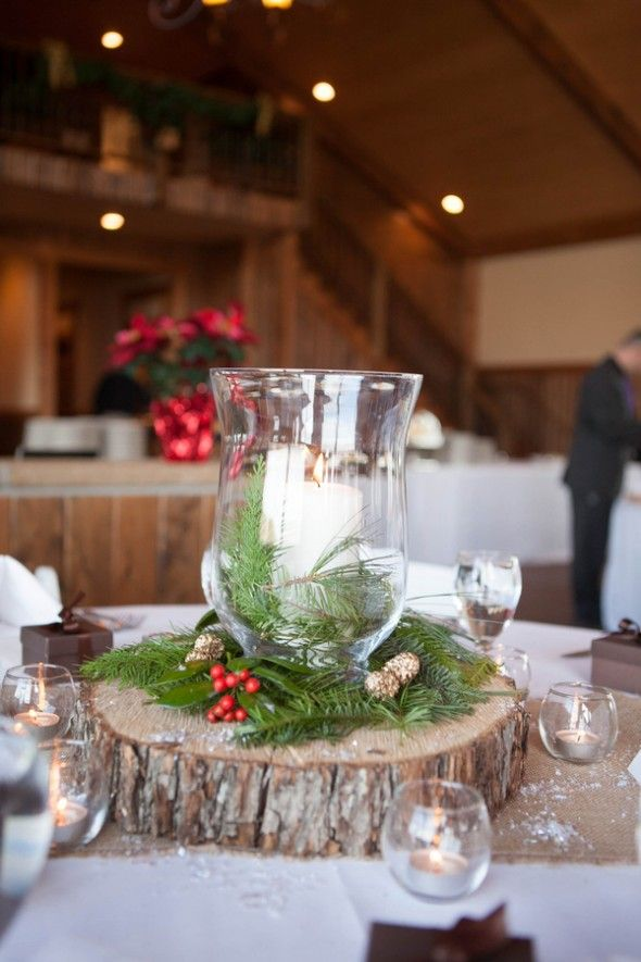 Winter Wedding Rustic Winter Wedding 2190799 Weddbook