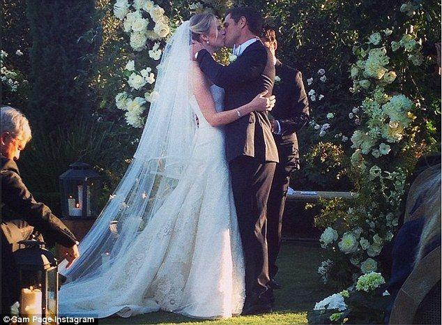 Sam Page Shares An Instagram Snap From His Wedding To Cassidy Boesch 2190938