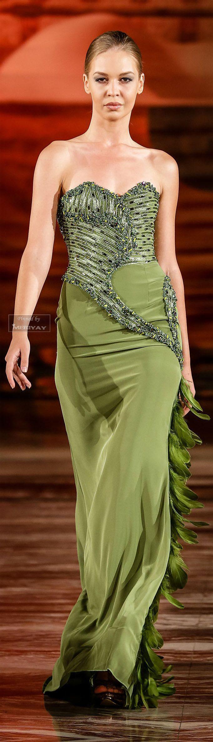 Hochzeit - Gowns.....Gorgeous Greens