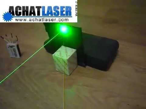 Hochzeit - pointeur laser vert classe 4
