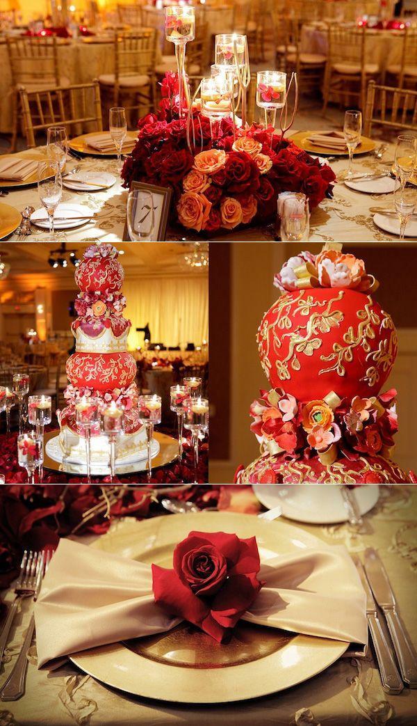 Oriental wedding chinese wedding 2191442 weddbook for Decoration table orientale