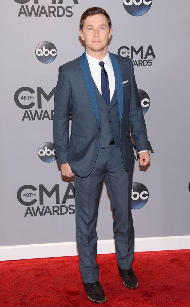 Свадьба - Scotty McCreery From 2014 CMA Awards Red Carpet Arrivals