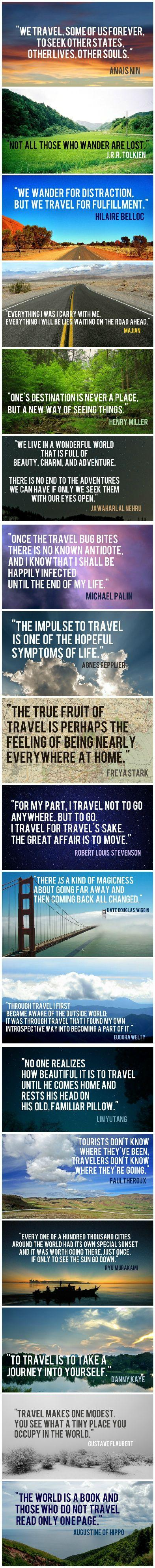 Mariage - 18 Travel Quotes To Feed Your Sense Of Wanderlust