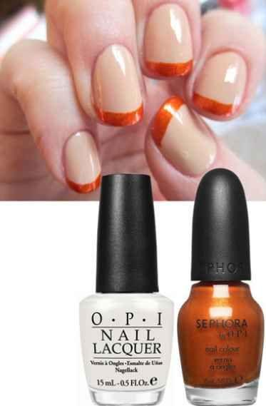Свадьба - 20 DIY Nail Tutorials You Need To Try This Fall