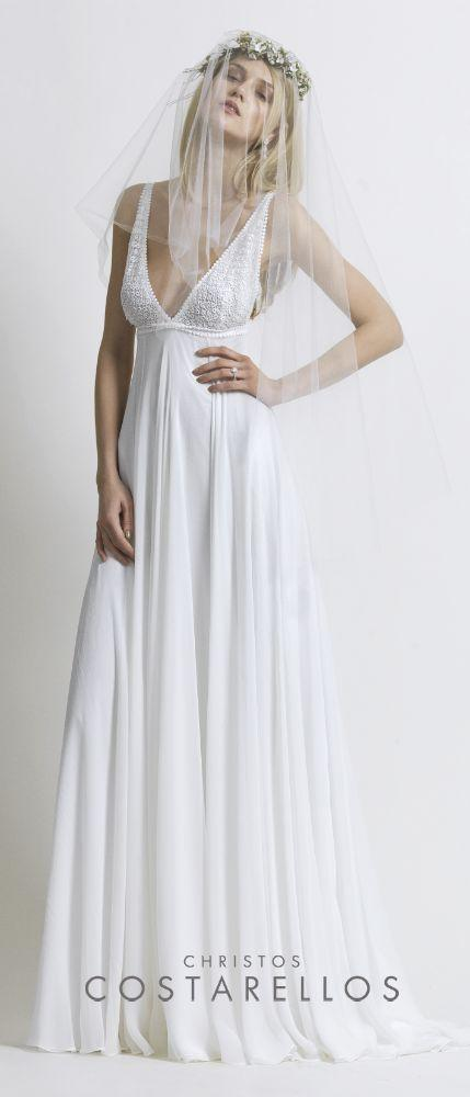 Hochzeit - Sleeveless Wedding Gown Inspiration